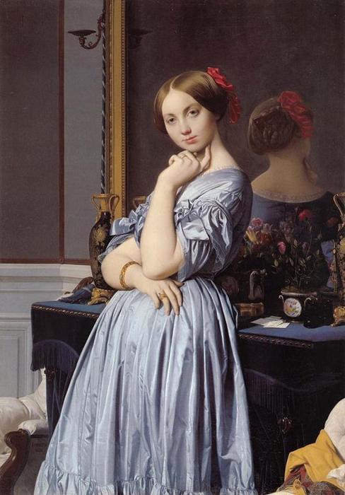 Jean-Auguste-Dominique-Ingres-The-Comtesse-d_Haussonville