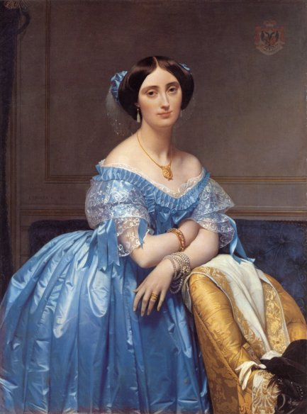 Princess-Albert-de-Broglie-Jean-Auguste-Dominique-Ingres-Oil-Painting-2