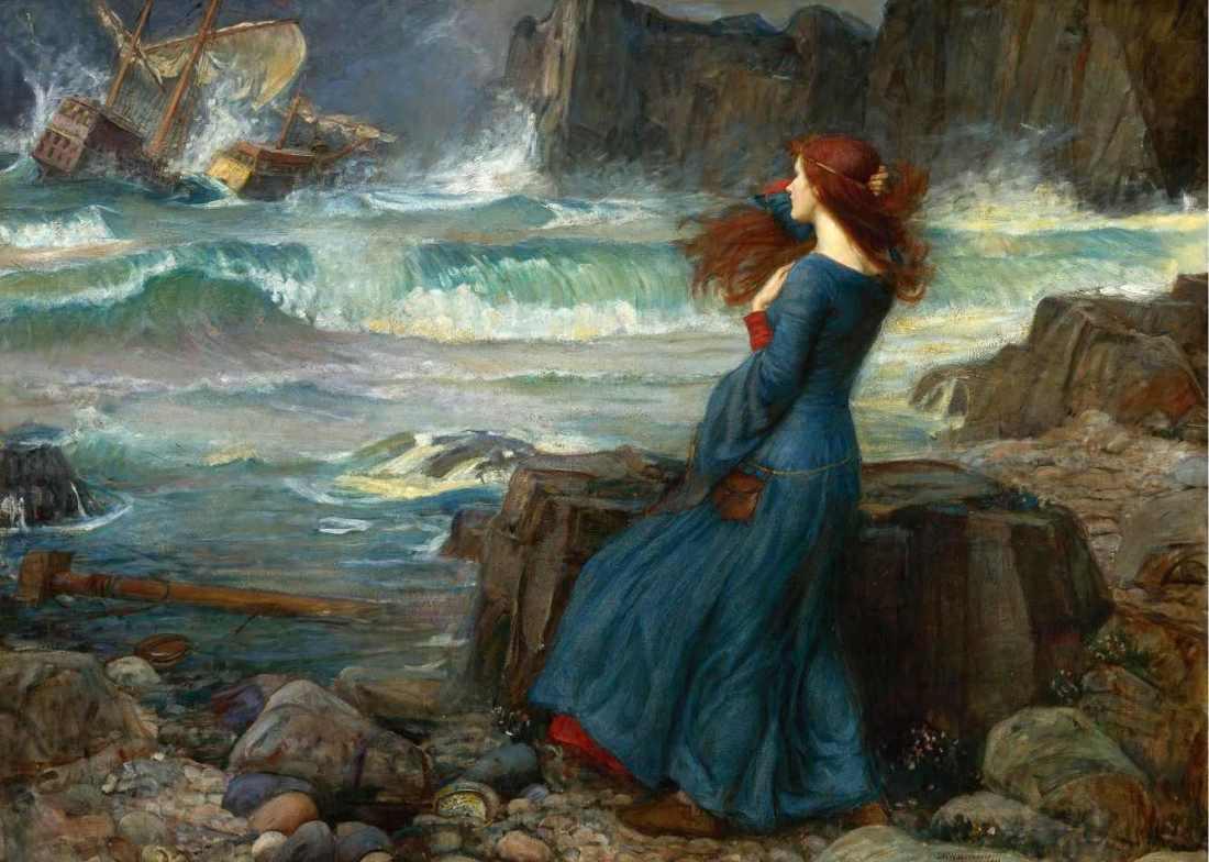 Miranda a tempestade waterhouse