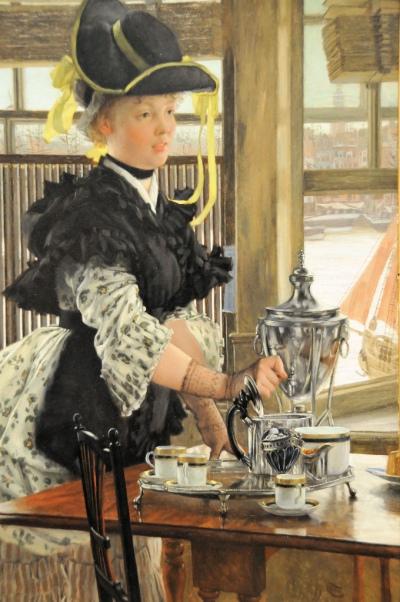 James Tissot - Tea 1872