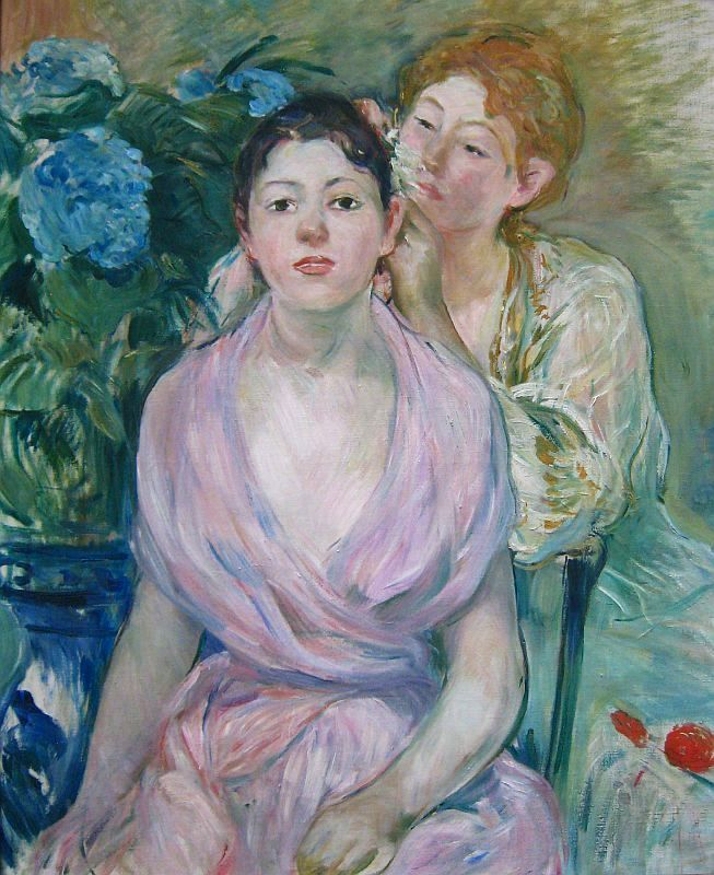 two sisters berthe morisot